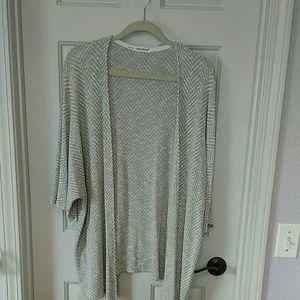 Light weight short sleeve cardigan